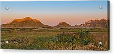 Acrylic Print featuring the photograph Good Morning Badlands II by Patti Deters