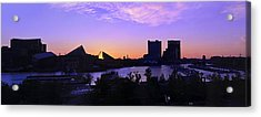 Good Morning Baltimore Acrylic Print by Marianne Campolongo