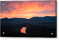 Good Morning Blue Ridge Acrylic Print