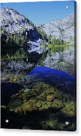 Good Morning Eagle Lake Acrylic Print