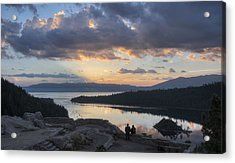 Acrylic Print featuring the photograph Good Morning Emerald Bay by Peter Thoeny