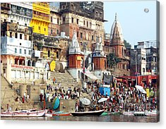 Good Morning Ganga Ji 2 Acrylic Print
