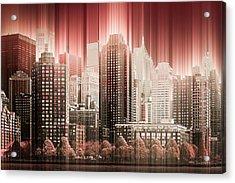 Good Morning Hudson Acrylic Print