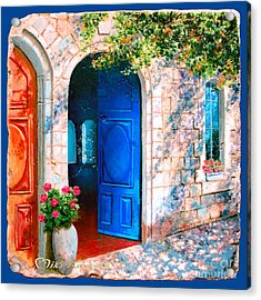 Good Morning Jerusalem Acrylic Print