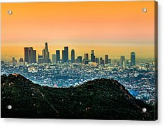 Good Morning La Acrylic Print