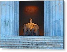 Good Morning Mr. Lincoln Acrylic Print
