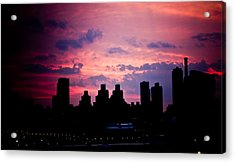Acrylic Print featuring the photograph Good Morning New York by Sara Frank