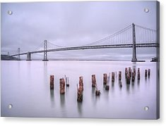 Acrylic Print featuring the photograph Good Morning San Francisco by Peter Thoeny