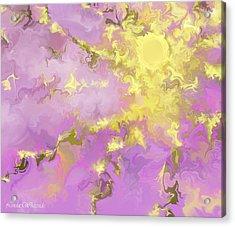Acrylic Print featuring the digital art Good Morning Starshine by Linda Whiteside