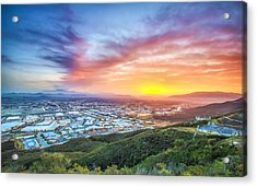 Good Morning Temecula Acrylic Print