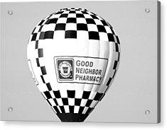 Good Neighbor Pharmacy In Infra Red Acrylic Print