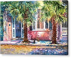 Good Neighbors Acrylic Print by Alice Grimsley