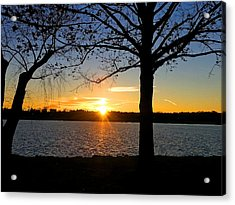 Good Night Potomac River Acrylic Print