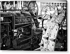 Good Old Tractor Acrylic Print by Thanh Tran