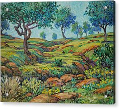 Good Pasture Poor Land For Farming Acrylic Print by Henry Potwin
