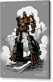 Good Robot Acrylic Print by Brian Kesinger
