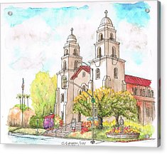 Good Shepherd Catholic Church, Beverly Hills, California Acrylic Print