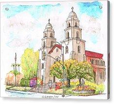 Good Shepherd Catholic Church, Beverly Hills, California Acrylic Print