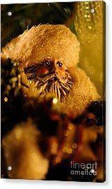 Good St. Nick Acrylic Print by Lois Bryan