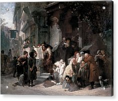 Goodall, Frederick 1822-1904. The Acrylic Print by Everett