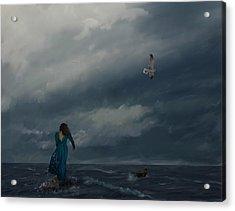 Goodbye Esmeralda Acrylic Print by Hazel Billingsley