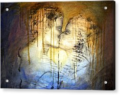 Acrylic Print featuring the photograph Goodbye Sadness...goodbye by Allen Beilschmidt