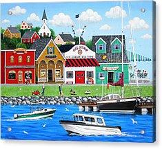 Goodies By The Sea Acrylic Print