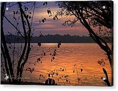 Goodnight Lake Acrylic Print