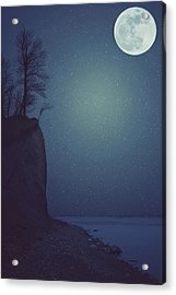 Goodnight Moon Acrylic Print by Carrie Ann Grippo-Pike