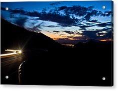 Goodnight Tucson Acrylic Print by Swift Family