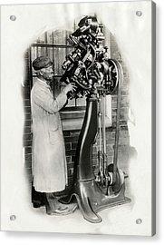 Goodyear Welt Sewing Machine Acrylic Print