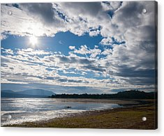 Acrylic Print featuring the photograph Goose Bay Sunrays by Jan Davies