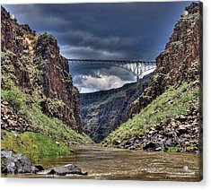 Gorge Bridge Acrylic Print