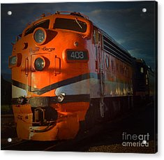 Gorge Train Acrylic Print