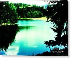 Acrylic Print featuring the photograph Gorge Waterway Victoria British Columbia by Eddie Eastwood