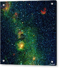 Gorgeous Galaxy Acrylic Print