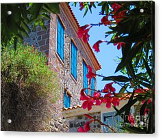 Acrylic Print featuring the photograph Gorgeous Island Residence by Andreas Thust