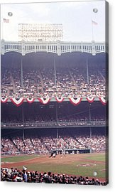 Gorgeous View Of Old Yankee Stadium Acrylic Print by Retro Images Archive
