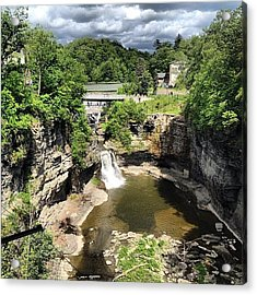 Gorges Acrylic Print by Mike Maher