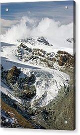 Gorner Glacier Acrylic Print