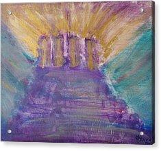 Gospel Pillars Acrylic Print