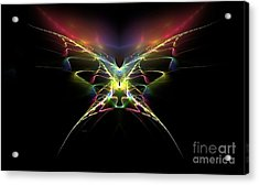 Gossamer Wings Acrylic Print by Greg Moores