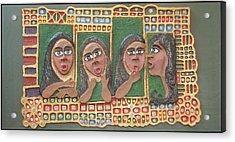 Gossip Mongers 2 Acrylic Print
