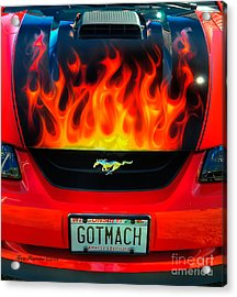 Acrylic Print featuring the photograph Got Mach by Trey Foerster
