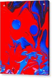 Got Slobber? Acrylic Print