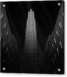 Gotham Acrylic Print by Ben Rea