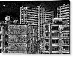 Gotham City Panama Style Acrylic Print