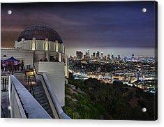 Gotham Griffith Observatory Acrylic Print