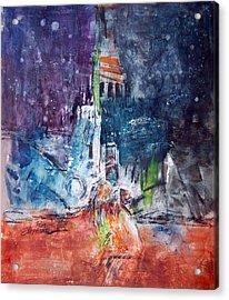 Gotham Acrylic Print by Ron Stephens