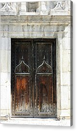 Gothic Arabic Acrylic Print by Sophie Vigneault